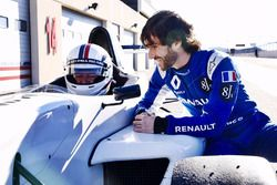 Christian Estrosi, president of the Provence-Alpes-Côte d'Azur region, with Nicolas Prost