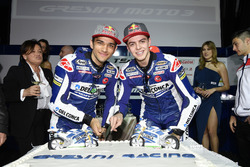 Jorge Martín, Gresini Racing Team and Fabio Di Giannantonio, Gresini Racing Team