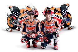 Marc Marquez, Repsol Honda Team; Dani Pedrosa, Repsol Honda Team