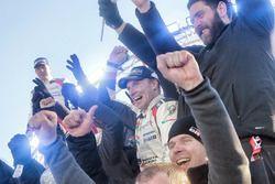 Winnaar Jari-Matti Latvala, Toyota Racing