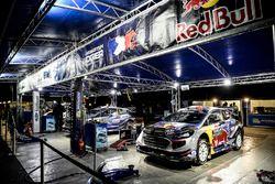 M-Sport auto's bij het team