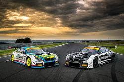 #100 BMW Team SRM, BMW M6 GT3: Steve Richards, James Bergmuller; #101 BMW Team SRM, BMW M6 GT3: Dann