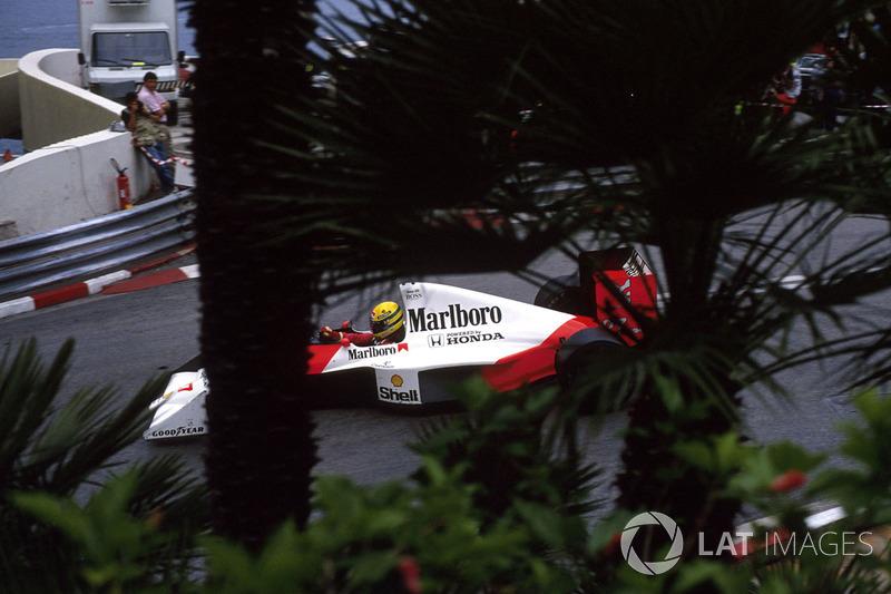 GP Monako 1990