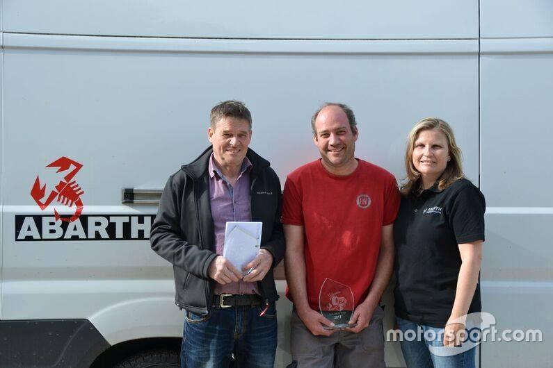Beat Wyssen, Sébastien Schmid, Martina Garovi, podium Corsa
