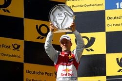 Podio: Segundo clasificado Mattias Ekström, Audi Sport Team Abt Sportsline, Audi A5 DTM