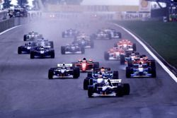 David Coulthard, Williams lidera