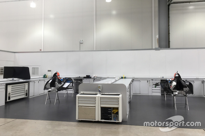 2017 Manor Racing chassis
