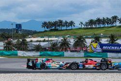 #35Jackie Chan DC Racing, Oreca Nissan 03R,Ho Pin Tung, Gustavo Menezes, testacoda
