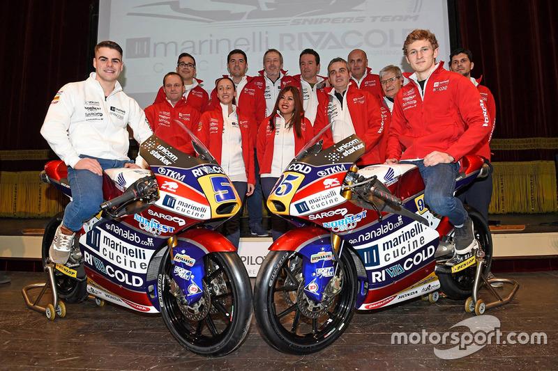 Jules Danilo, Romano Fenati, Ongetta–Rivacold Racing Team