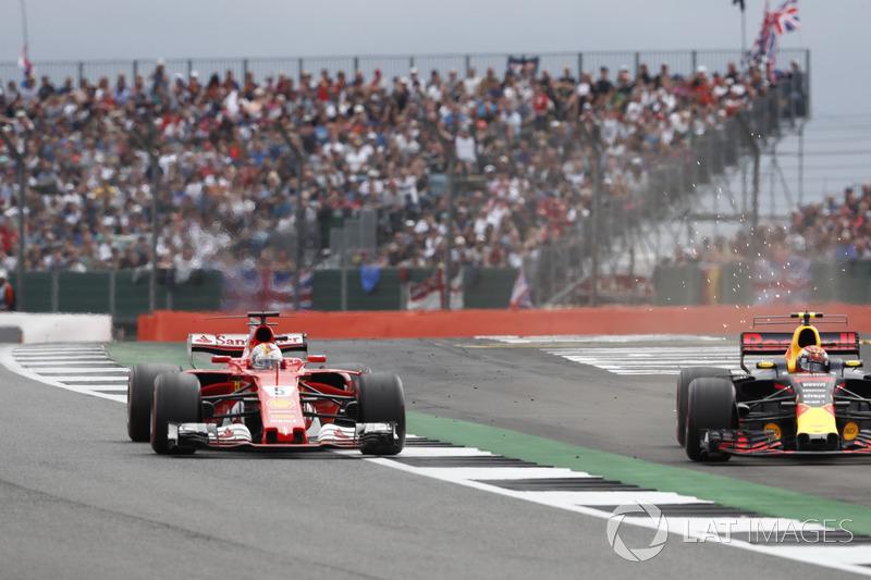 Sebastian Vettel, Ferrari, Max Verstappen, Red Bull, mücadeleleri görülmeye değerdi