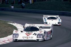 #10 Kremer Racing Porsche 962C: Manfred Winkelhock, Marc Surer