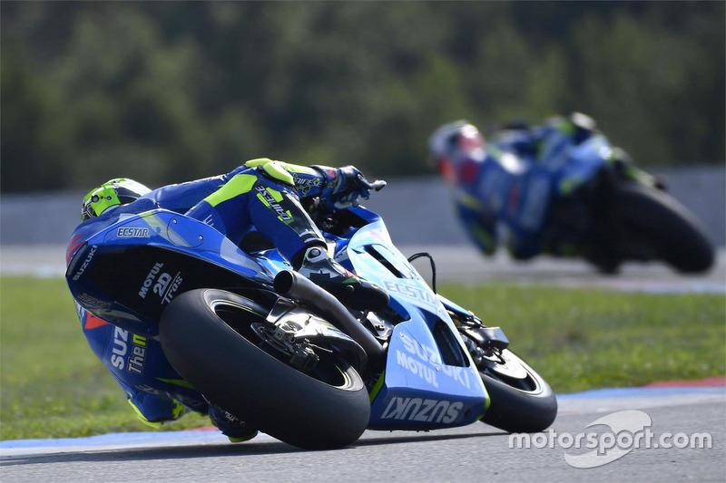 Андреа Янноне, Team Suzuki MotoGP, Алекс Рінс, Team Suzuki MotoGP