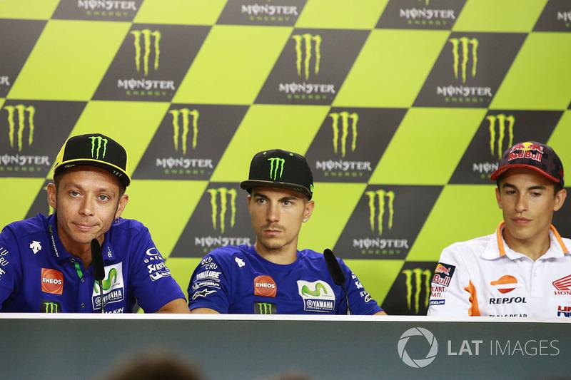 Valentino Rossi, Maverick Vinales dan Marc Marquez
