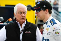 Brad Keselowski, Team Penske Ford, team owner Roger Penske