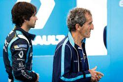 Nicolas Prost, Renault e.Dams, und Alain Prost
