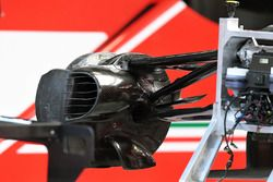 Ferrari SF70H brake duct detail
