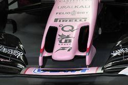 Force India VJM10 nose detail