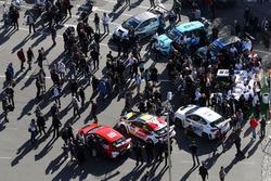TCR-Autos in der Innenstadt von Rustavi