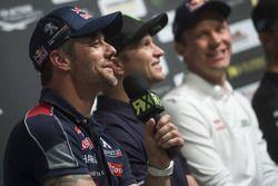 Sébastien Loeb, Team peugeot-Hansen, Petter Solberg, PSRX Volkswagen Sweden, Mattias Ekström, EKS