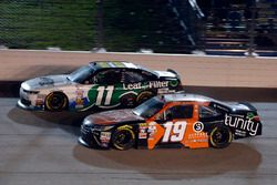 Matt Tifft, Joe Gibbs Racing Toyota and Blake Koch, Kaulig Racing Chevrolet