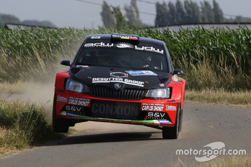 Vincent Verschueren, Veronique Hostens, Skoda Fabia R5