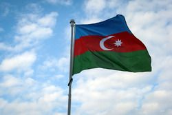Bandera de Azerbaiyán