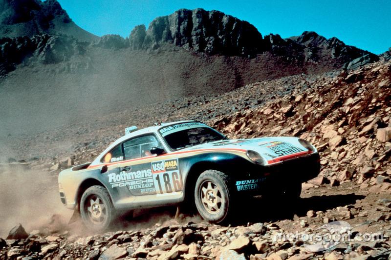 1986: René Metge, Dominique Lemoyne, Porsche 959