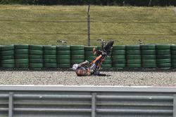 Авария: Никколо Антонелли, Red Bull KTM Ajo