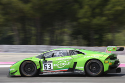 #63 GRT Grasser Racing Team Lamborghini Huracan GT3: Andrea Caldarelli, Christian Engelhart, Mirko Bortolotti