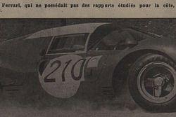 Tribune de Lausanne, articolo, Herbert Müller, Ferrari 330 P3, Scuderia Filipinetti