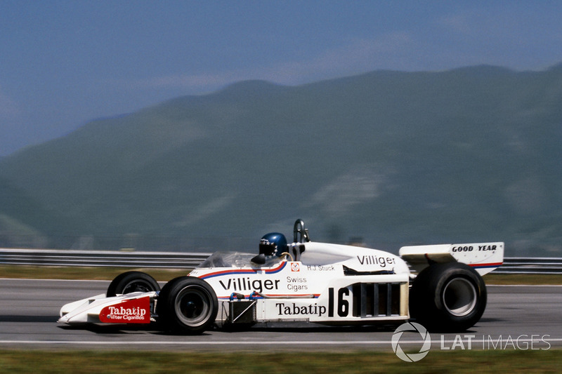 Hans-Joachim Stuck, Shadow DN8