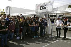 Reinis Nitiss, EKS, Audi S1 EKS RX Quattro; Toomas Heikkinen, EKS, Audi S1 EKS RX Quattro