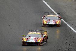 #71 AF Corse Ferrari 488 GTE: Davide Rigon, Sam Bird, #51 AF Corse Ferrari 488 GTE: James Calado, Alessandro Pier Guidi