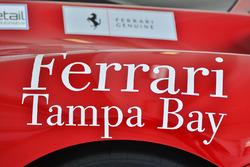 #130 Ferrari of Tampa Bay Ferrari 488 Challenge: Justin Wetherill