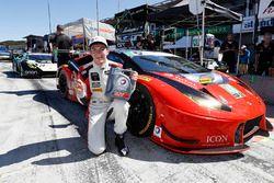 GTD ganadores de la pole Madison Snow, Paul Miller Racing