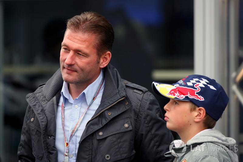 Jos Verstappen mit Sohn Max Verstappen vor zehn Jahren ...