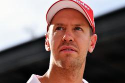 Sebastian Vettel, Ferrari après la Q1