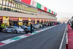 Cars at pitlane