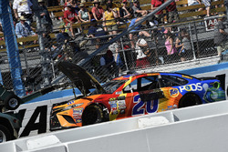 Matt Kenseth, Joe Gibbs Racing Toyota na crash