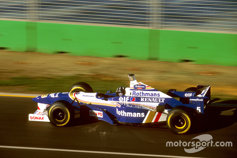 Williams 1996: Damon Hill, Williams FW18