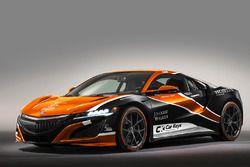 Honda NSX, McLaren renk düzeni ile