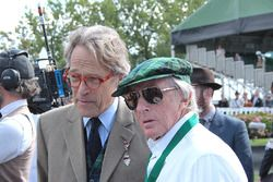 Lord March and Jackie Stewart