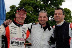 Marcel Steiner, Eric Berguerand, Christoph Lampert, podio
