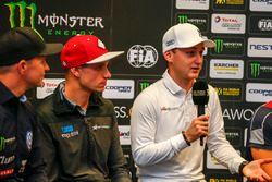 Conferenza stampa, Janis Baumanis, STARD, Ford Fiesta, Reinis Nitiss, EKS, Audi S1 EKS RX Quattro