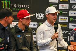 Conférence de presse : Janis Baumanis, STARD, Ford Fiesta, Reinis Nitiss, EKS, Audi S1 EKS RX Quattro