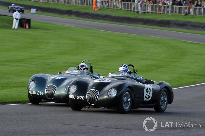 Freddie March Memorial Trophy: John Young Frederic Wakeman C-Type Jaguar