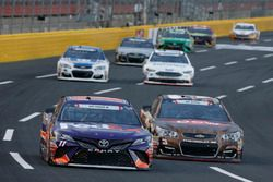 Denny Hamlin, Joe Gibbs Racing Toyota Austin Dillon, Richard Childress Racing Chevrolet
