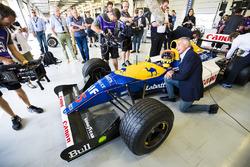 Karun Chandhok, Williams FW14B Renault, Riccardo Patrese