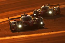#6 Toyota Racing Toyota TS050 Hybrid: Stéphane Sarrazin, Mike Conway, Kamui Kobayashi, #5 Toyota Rac