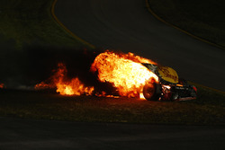 Accident de Martin Truex Jr., Furniture Row Racing Toyota